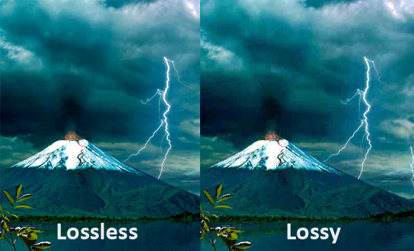 lossles and lossy video compression