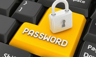 password yellow button