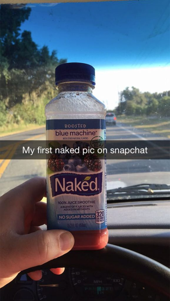 naked pic on snapchat