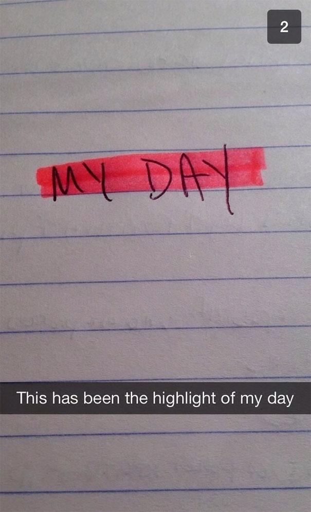 my day highlight