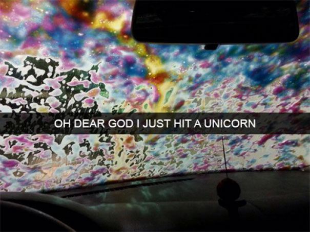 just hit a unicorn
