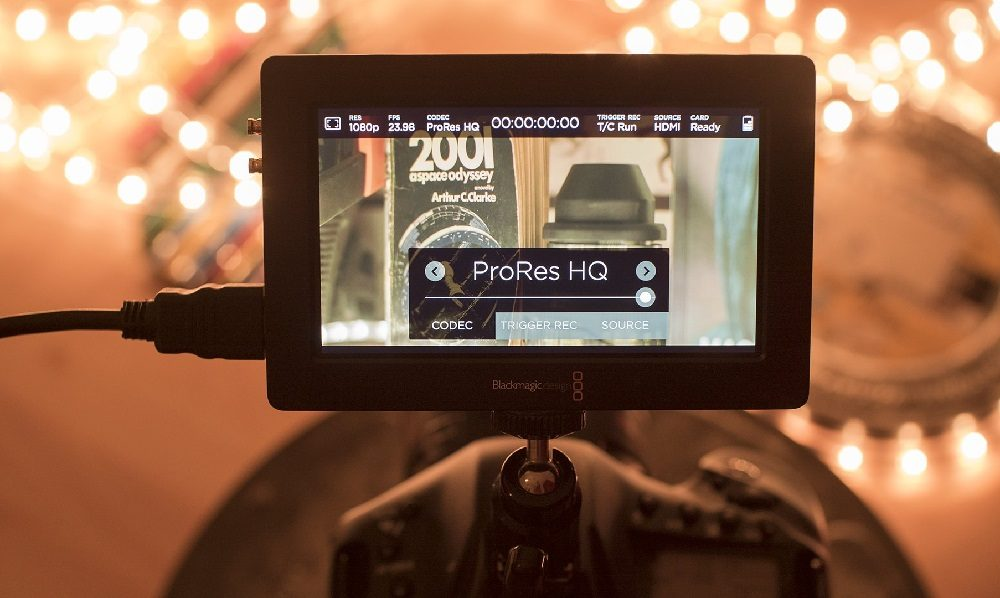 video codec in a camera