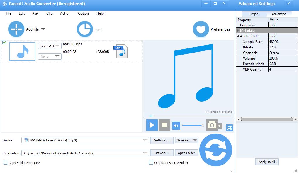 Faasoft-Audio-Converter