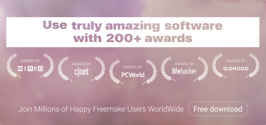 Freemake software