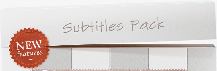 Free Subtitles Pack