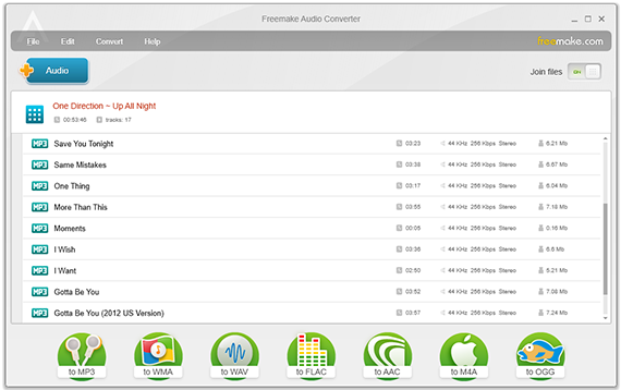 FREE Audio Converter | MP3 Music Converter by Freemake