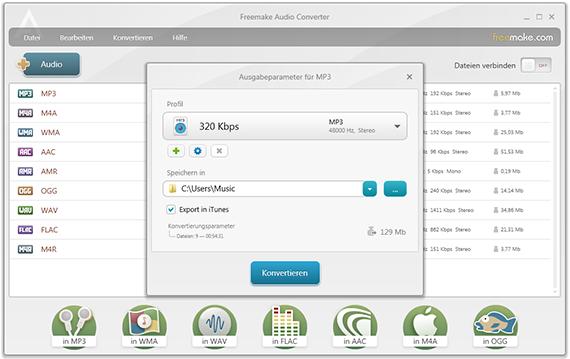 Freemake Audio Converter – MP3 Converter