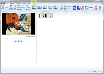 how to edit clips on Windows Media Player or Microsoft Windows Movie Maker (thumbnail)
