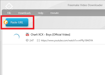 paste link in download manager (thumbnail)